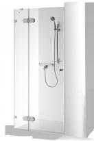 Le porte della doccia con la parete per le nicchie MARE PLUS